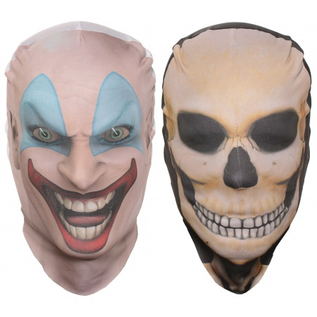 Scary Fabric Halloween Masks image