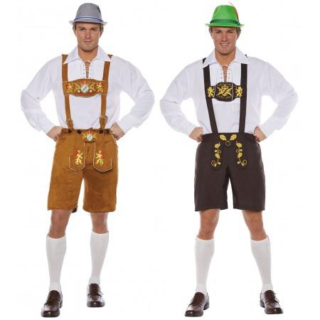 Adult Lederhosen Costume image