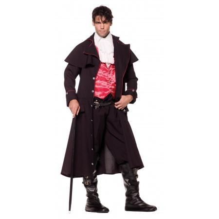 Mens Gothic Vampire Costume image