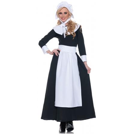 Womens Pilgrim Costume image