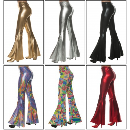 Womens Bell Bottom Pants image