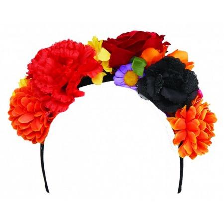 Dia De Los Muertos Flower Headband image