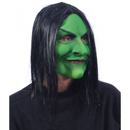 Green Witch Mask image