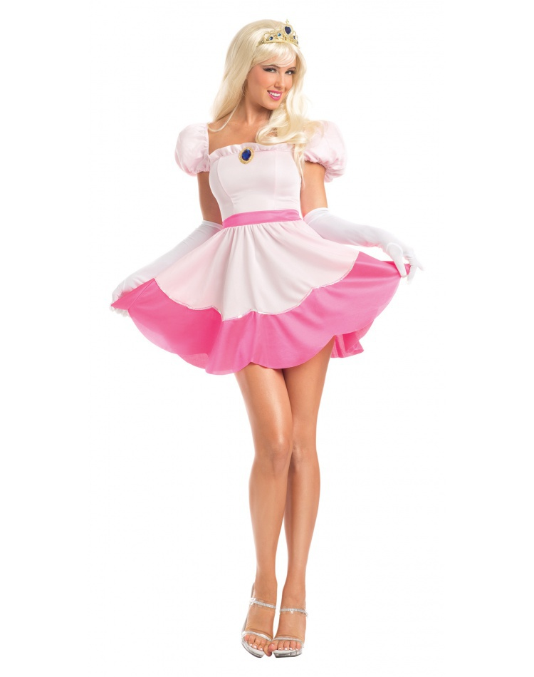Adult Princess Peach Costume Female