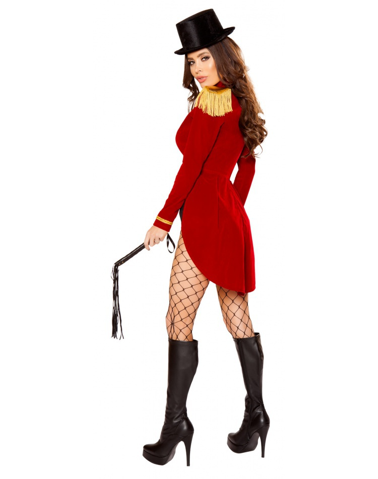 Sexy Female Ringmaster Costume image  sc 1 st  CostumeBliss.com : cheap ringmaster costume  - Germanpascual.Com