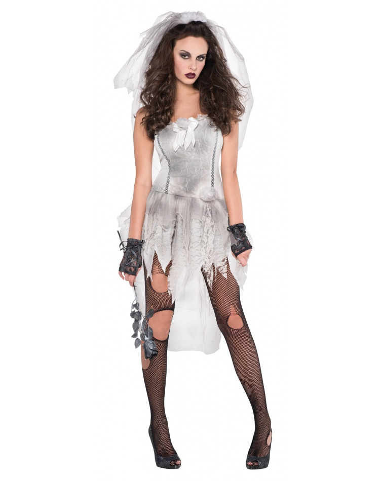 Dead Bride Halloween Costume.Sexy Dead Bride Costume For Halloween Female