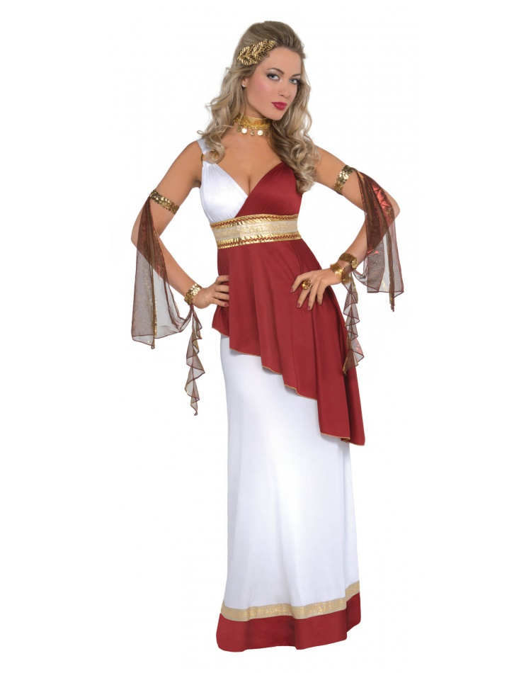 womens roman goddess costume image