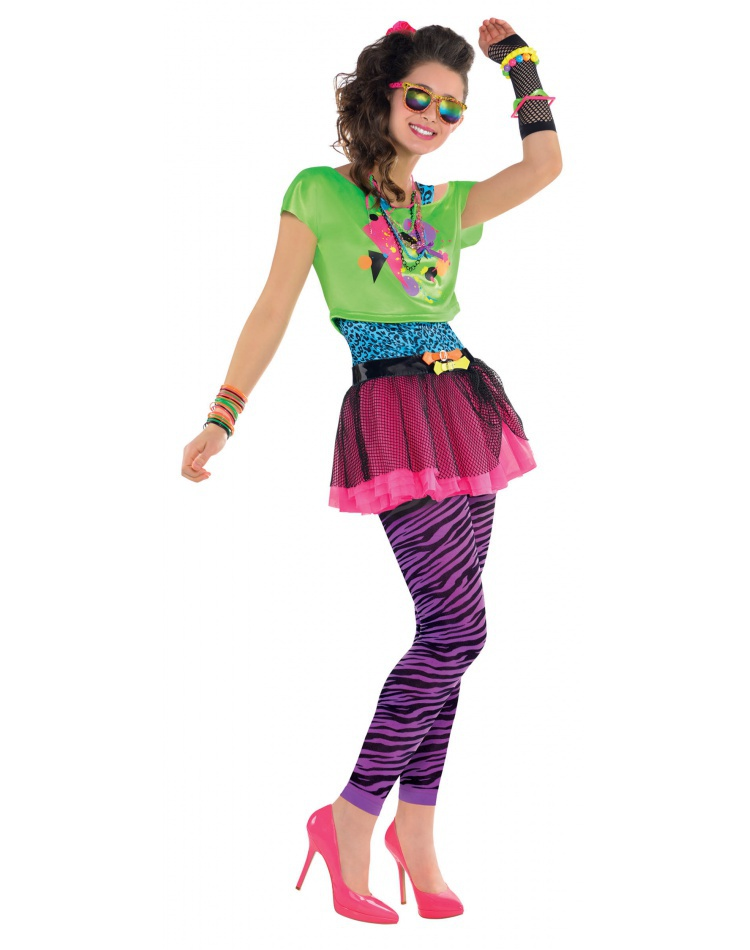 80s Girl Costume image  sc 1 st  CostumeBliss.com : 80s chick costume  - Germanpascual.Com