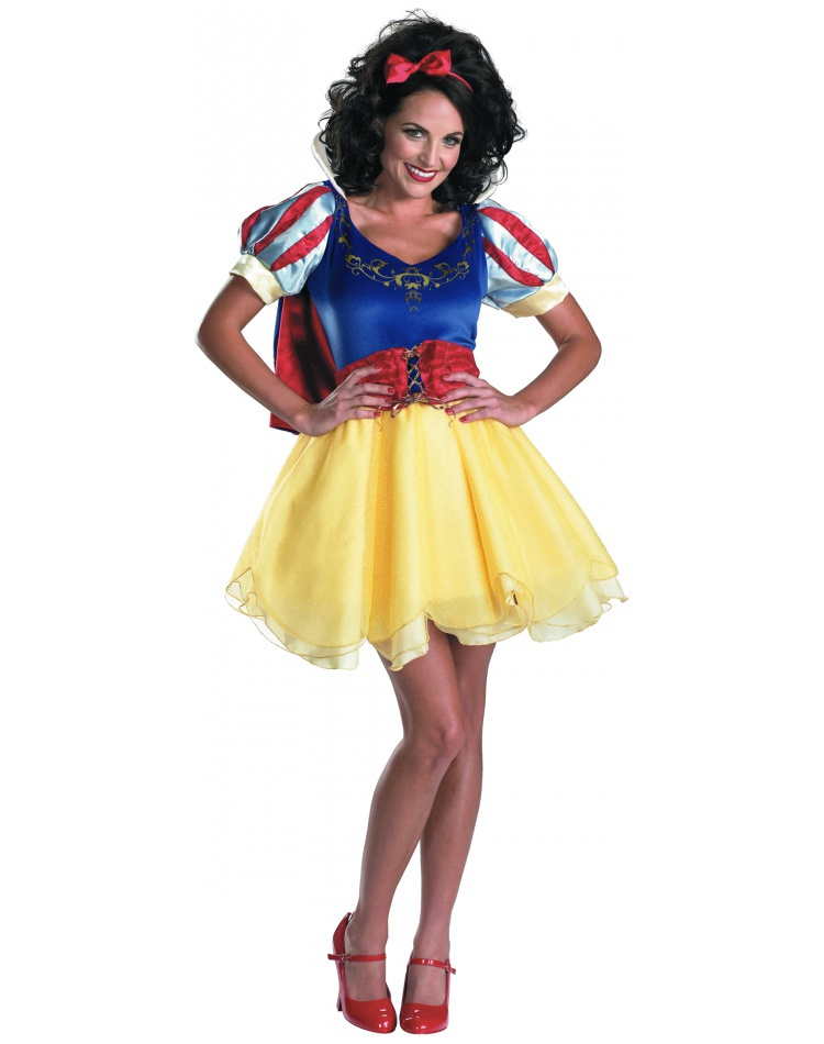Teen Snow White Costume For Halloween Image