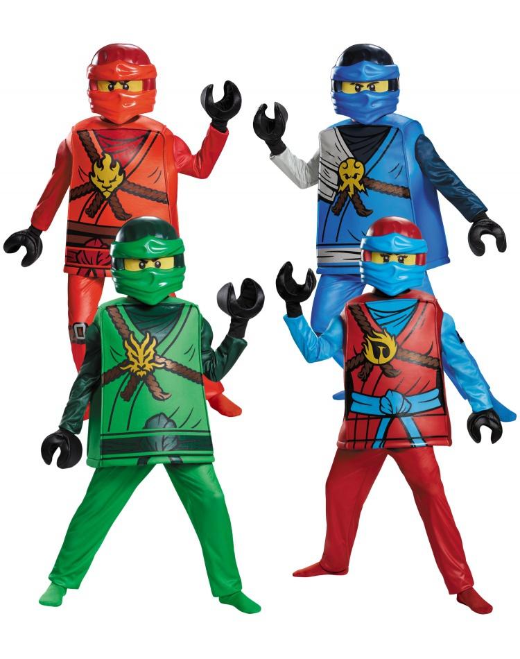 Ninjago Halloween Costume.Lego Ninjago Halloween Costume Male