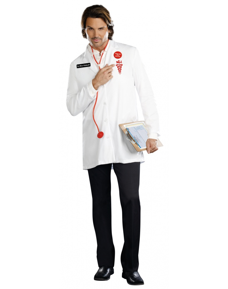 Funny Doctor Costume For Men image  sc 1 st  CostumeBliss.com & Funny Doctor Costume For Men Male Halloween