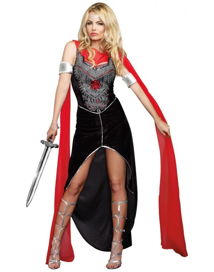 Medieval Female Warrior Costume Halloween
