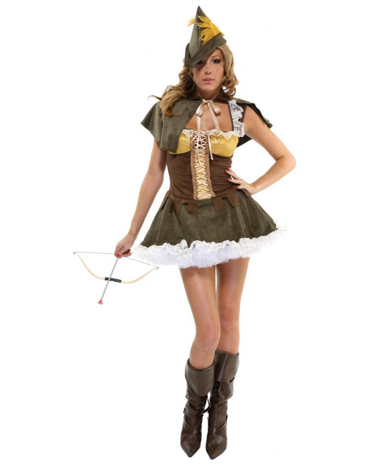 Sexy female robin costume