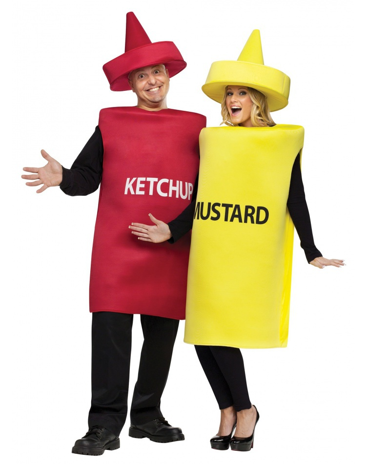 Ketchup And Mustard Costume image  sc 1 st  CostumeBliss.com & Ketchup And Mustard Costume Neutral
