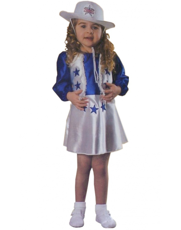 Dallas Cowboys Cheerleader Costume For Kids Toddler