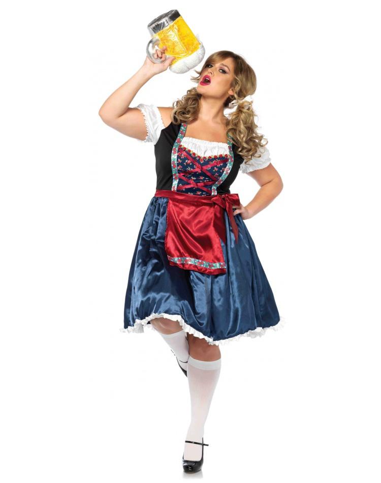61e39150c1 Plus Size German Beer Girl Costume Female