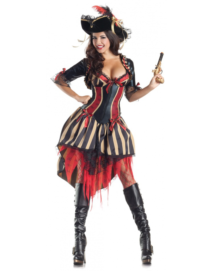 Sexy Pirate Wench Costume image