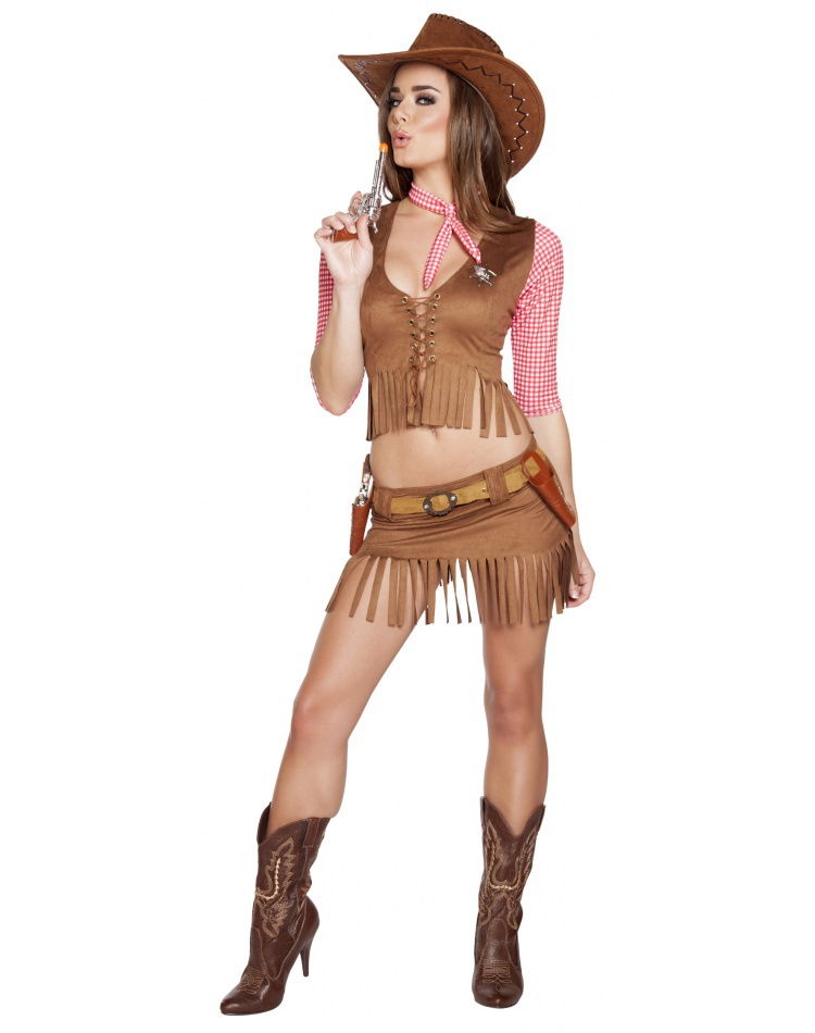 c52a69a339bd6 Sexy Cowgirl Costumes Female