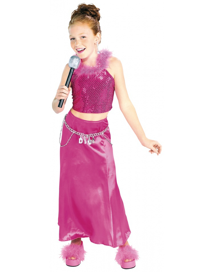 Kids Pop Star Costume image  sc 1 st  CostumeBliss.com & Kids Pop Star Costume Child