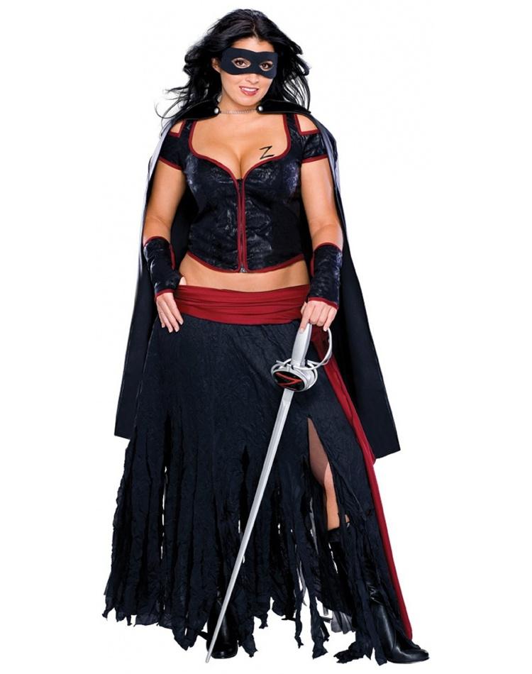 Lady Zorro Costume Mexican Senorita Bandita image  sc 1 st  CostumeBliss.com & Lady Zorro Costume Mexican Senorita Bandita Female Halloween