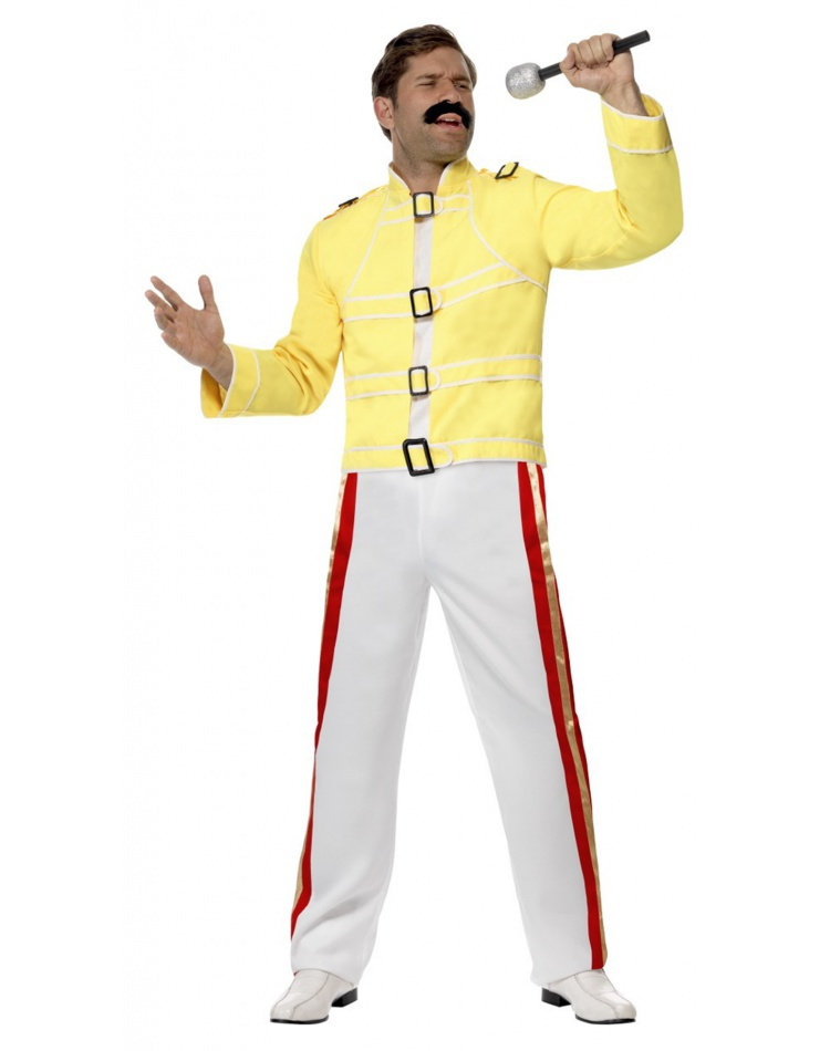 cee492e07b4 Freddie Mercury Halloween Costume Adult