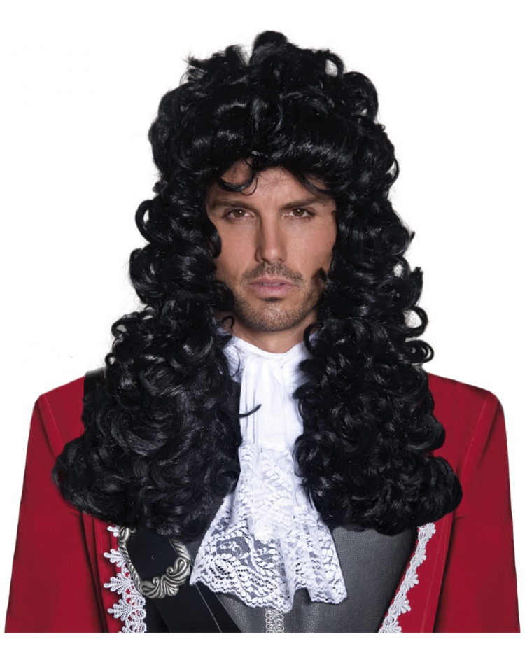 Pirate Captain Wig Costume Accessory Morgan Or Hook Male