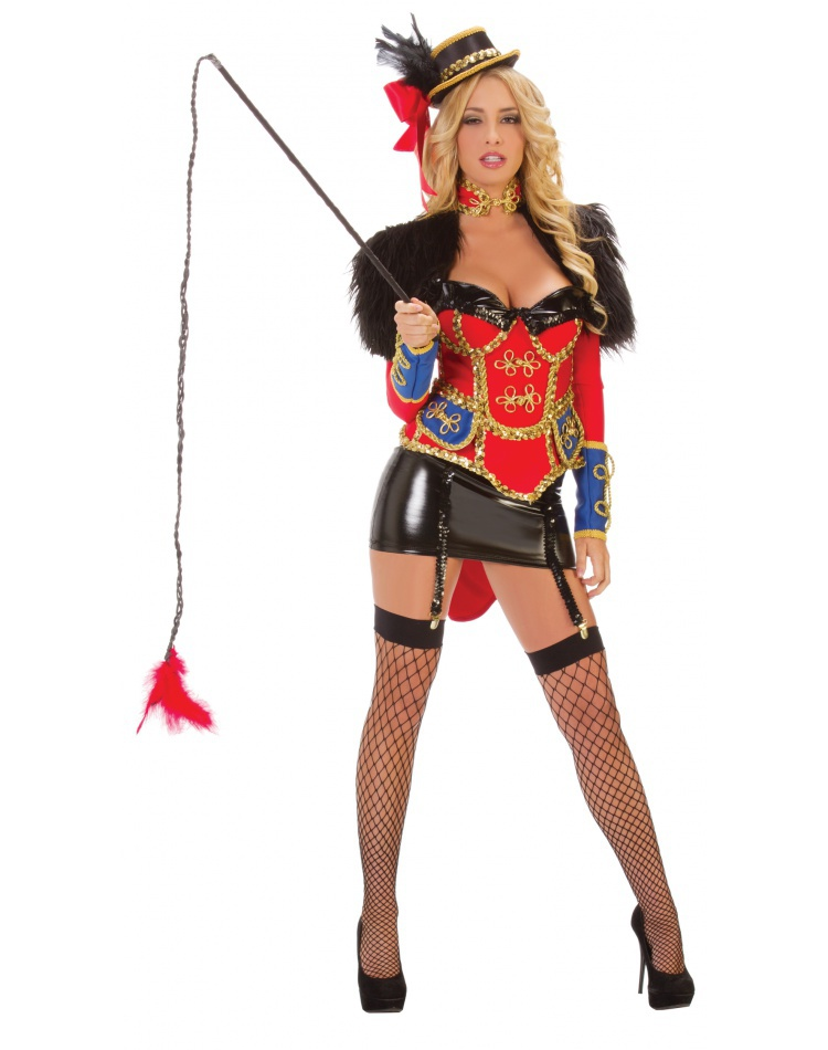 Lion Tamer Costume image  sc 1 st  CostumeBliss.com & Lion Tamer Costume Female Halloween