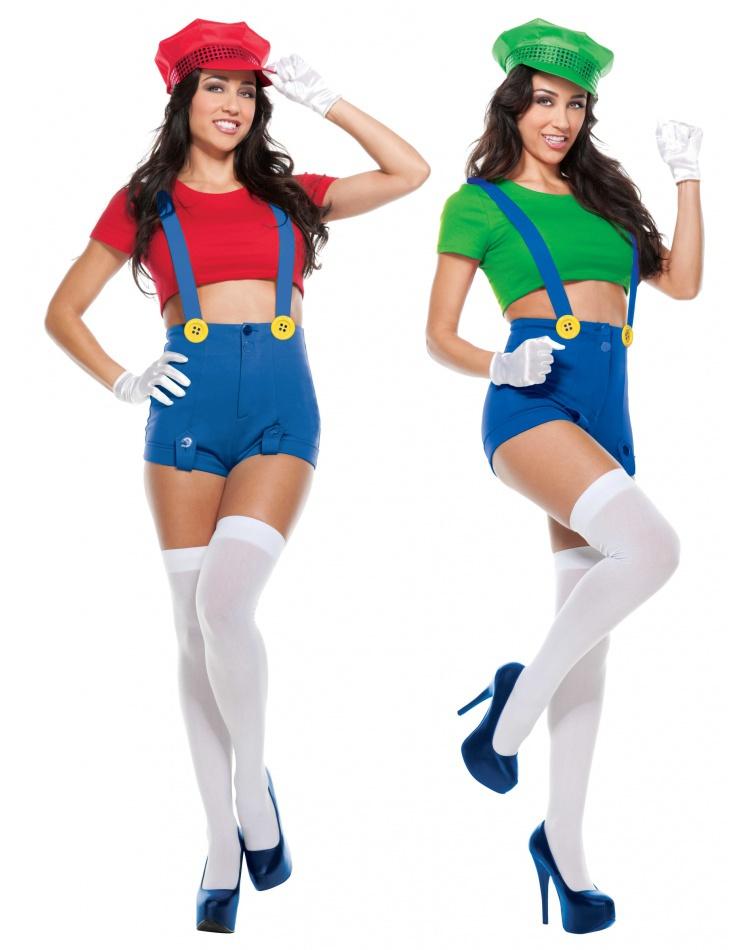 Sexy Mario And Luigi Costumes Halloween