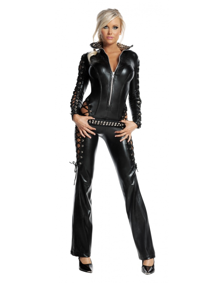 c6844d36ced5 Biker Chick Costume Adult