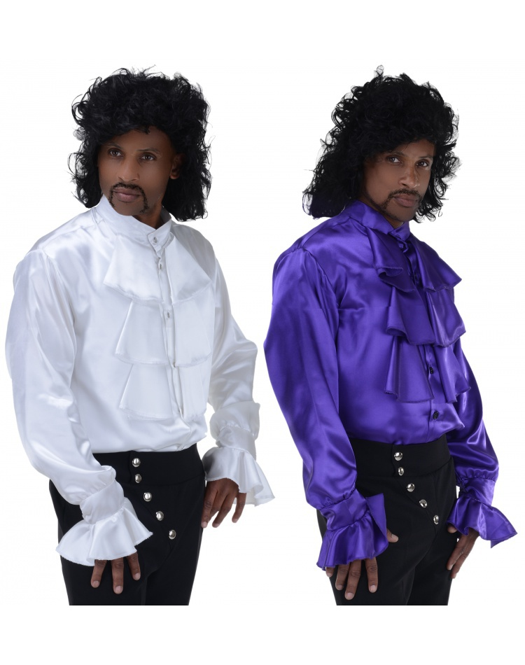 Adult Prince Purple Rain 80s Costume Wig